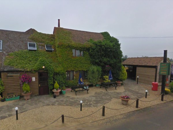 The Green Man pub in Stanford