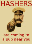 parody of Lord Kitchener's recruiting poster